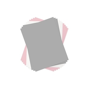 Sizzix - Paper Leather Sheets - 8 1/2in x 11in Assorted Pastels - 10 Pack