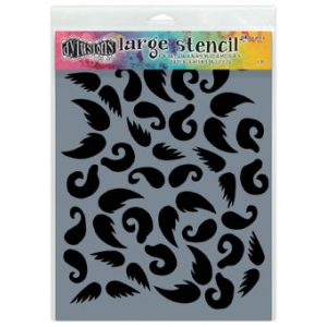 Ranger - Dyan Reaveley - Dylusions - Stencils - Stash of 'Tache - Large