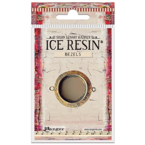 Ranger - ICE Resin - Milan Bezels Closed Back - Antique Bronze - Circle - Small