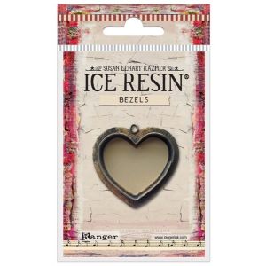 Ranger - ICE Resin - Milan Bezels Closed Back - Antique Bronze - Rectangle - Medium