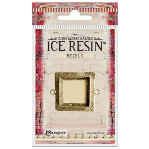Ranger - ICE Resin - Milan Bezels Closed Back - Antique Bronze - Square - Medium