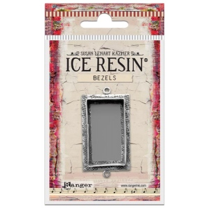 Ranger - ICE Resin - Milan Bezels Closed Back - Antique Silver - Circle - Small