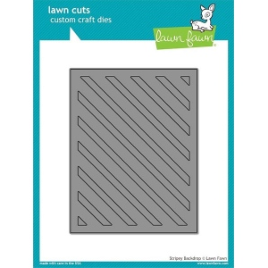 Lawn Fawn - Lawn Cuts - Stripey Backdrop Die