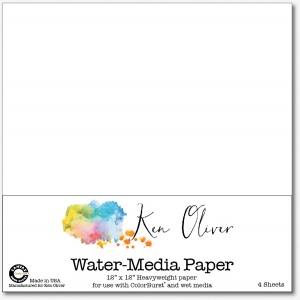 Canvas Corp - Ken Oliver - Water-Media Paper - 12x12