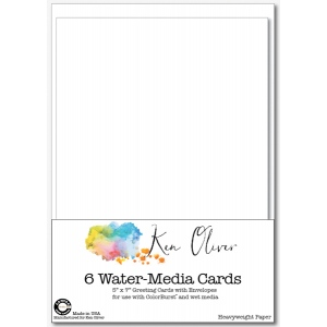 Canvas Corp - Ken Oliver - Water-Media Greeting Cards with Envelopes