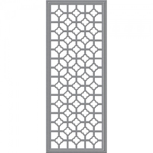 Spellbinders - Shapeabilities - Wedding Collection - Becca Feeken - Quatrafoil Panel