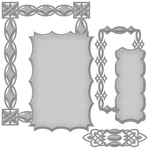 Spellbinders - Card Creator - Renaissance - Jeweled Frame