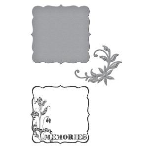 Spellbinders - Stamp/Die  Set - Donna Salazar - Memories