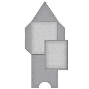 Spellbinders - Shapeabilities - Tammy Tutterow - Pointed Mini Envelope