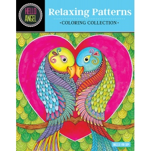 Design Originals - Hello Angel - Relaxing Patterns Coloring Book