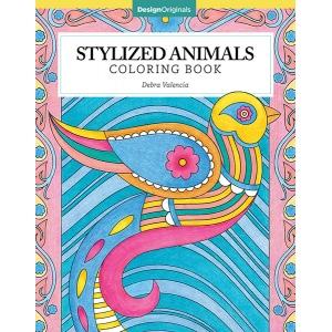 Design Originals - Stylized Animals  Coloring Book
