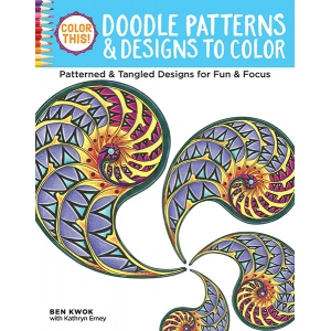 Design Originals - Color This!  Doodle Patterns Coloring Book