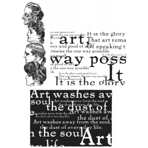 Stampers Anonymous Tim Holtz Stamp Set: Classics #4