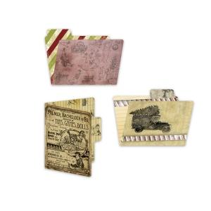 7Gypsies - Santa's Journey - ATC Printed File Folders