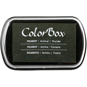 Clearsnap - ColorBox Classic Pigment Inkpad - Thunder