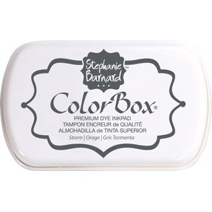 Clearsnap - ColorBox Premium Dye Ink by Stephanie Barnard - Storm
