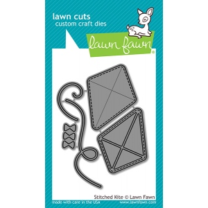Lawn Fawn - Lawn Cuts - Stitched Kite Dies
