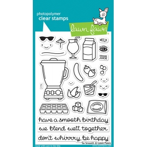 Lawn Fawn - Stamps - So Smooth Stamp Set
