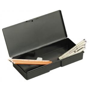ArtBin Sketch Series Single Compartment Pencil/Marker Box: Black