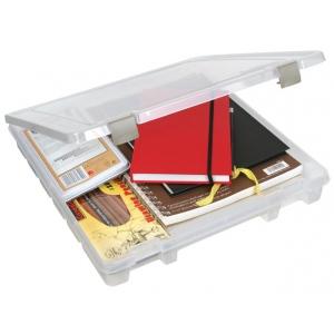 "ArtBin Super Slim Satchel: 1 Compartment, Ranslucent, 15.25"" x 14"" x 2"""