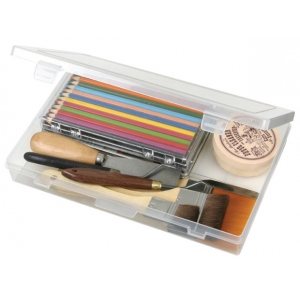 "ArtBin Solutions Medium Box: 1 Compartment, Translucent, 10.75"" x 7.375"" x 1.75"""