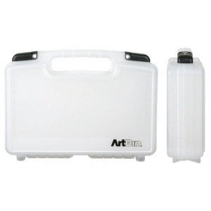 ArtBin Medium Quick View Standard Base Carrying Case: Clear Transparent,  14""