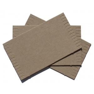 """Inovart Cardboard Mini Looms 3-1/2"""" x 6"""" - Package Of 12 Looms"""