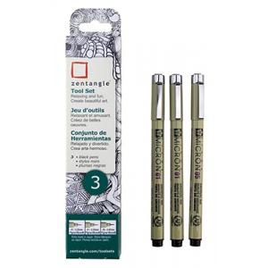 Sakura of America -Zentangle -  Micron Set - 3 Pack