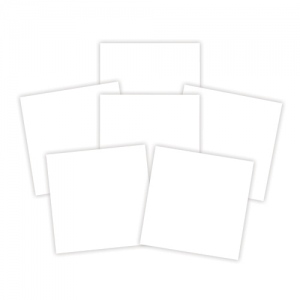 Spellbinders - Platinum Pack 6  - 6x6 Adhesive Sheets - White - 6 Pieces