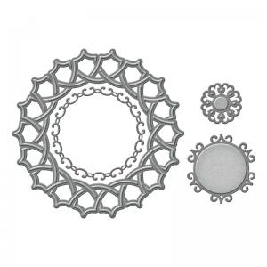 Spellbinders - Shapeabilities - Naples Medallion Die