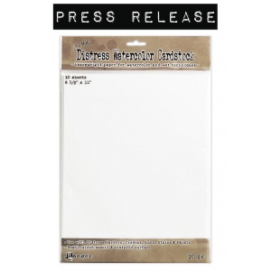 Ranger - Tim Holtz - Distress - Watercolor Cardstock - 8.5x11 - 10 Sheets