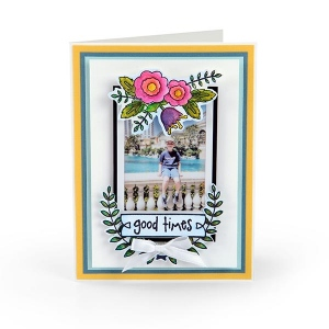 Sizzix - Clear Stamps - Memories by Lynda Kanase