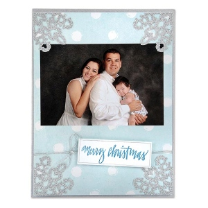 Sizzix - Thinlits Die Set - 3 Pack - Photo Corners - Snowflake by Sharyn Sowell