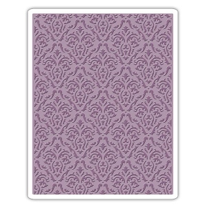 Sizzix - Tim Holtz Alterations - Texture Fades Embossing Folder - Damask