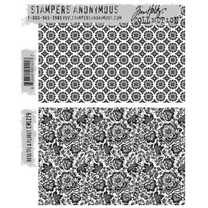 Stampers Anonymous - Tim Holtz - Rosette & Floret Stamps