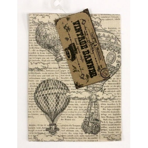 Canvas Corp - Vintage Banner - Canvas - Hot Air Ballons