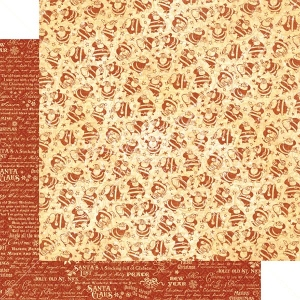 Graphic 45 - St Nicholas - Kris Kringle 12x12 Paper