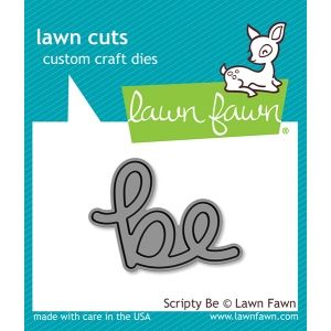 Lawn Fawn - Lawn Cuts - Scripty Be Die