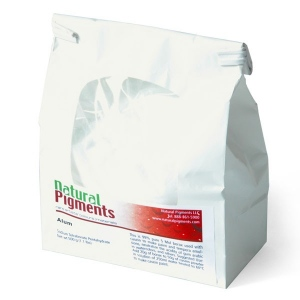 Natural Pigments Aluminum Sulfate (Alum) 500 g - Color: White crystalline powder