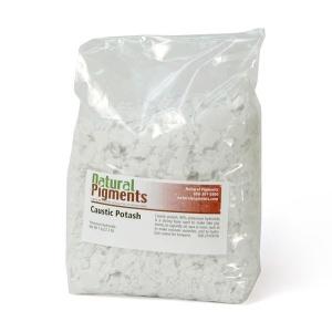Natural Pigments Caustic Potash (potassium hydroxide) 1 kg - Color: White solid
