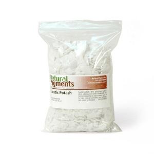 Natural Pigments Caustic Potash (potassium hydroxide) 500 g - Color: White solid