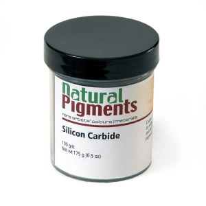 Natural Pigments Silicon Carbide (100 grit) 100 g