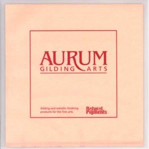 Natural Pigments Aurum Silver Leaf (Book)