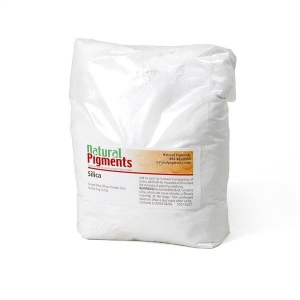 Natural Pigments Silica Fine 1 kg - Source: Mill Creek, Oklahoma