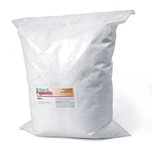 Natural Pigments Silica Fine 5 kg - Source: Mill Creek, Oklahoma