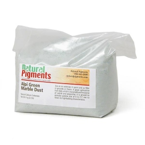 Natural Pigments Alpine Green Marble Dust 1 kg
