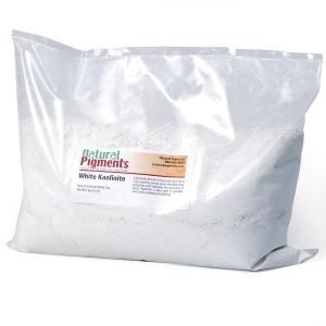 Natural Pigments Kaolinite Calcined 1 kg - Color: White