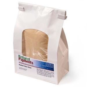 Natural Pigments Rabbit Skin Glue 1 kg - Source: Rabbit hides
