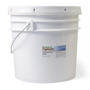 Natural Pigments Traditional Fresco Plaster with Pozzolana 3.5 gal