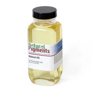 Natural Pigments Walnut Oil 8 fl oz - Source: Juglans regia